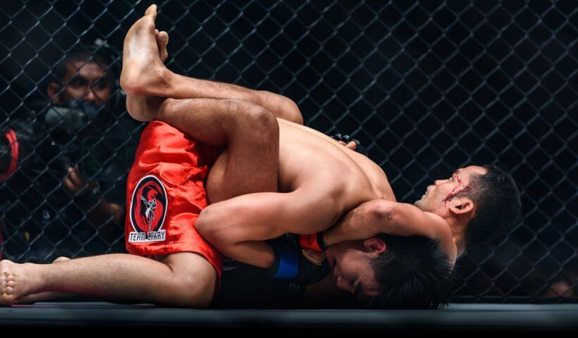ufc submission