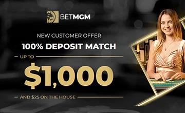 BetMGM Casino - Claim BetMGM Casino Bonus