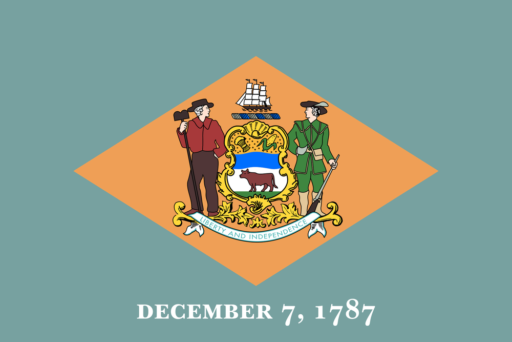Delaware State Flag USA Casino Review