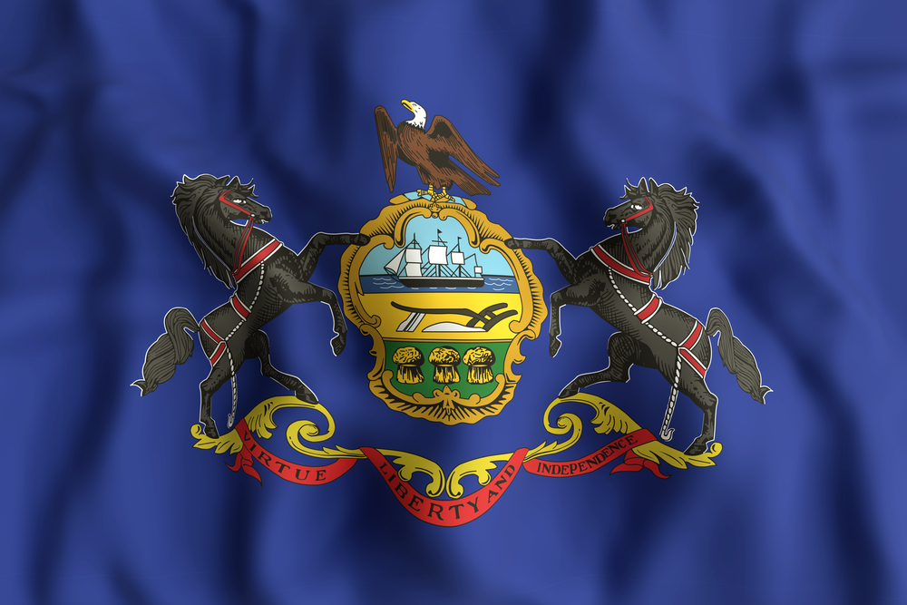 Pennsylvania State Flag USA Casino Review